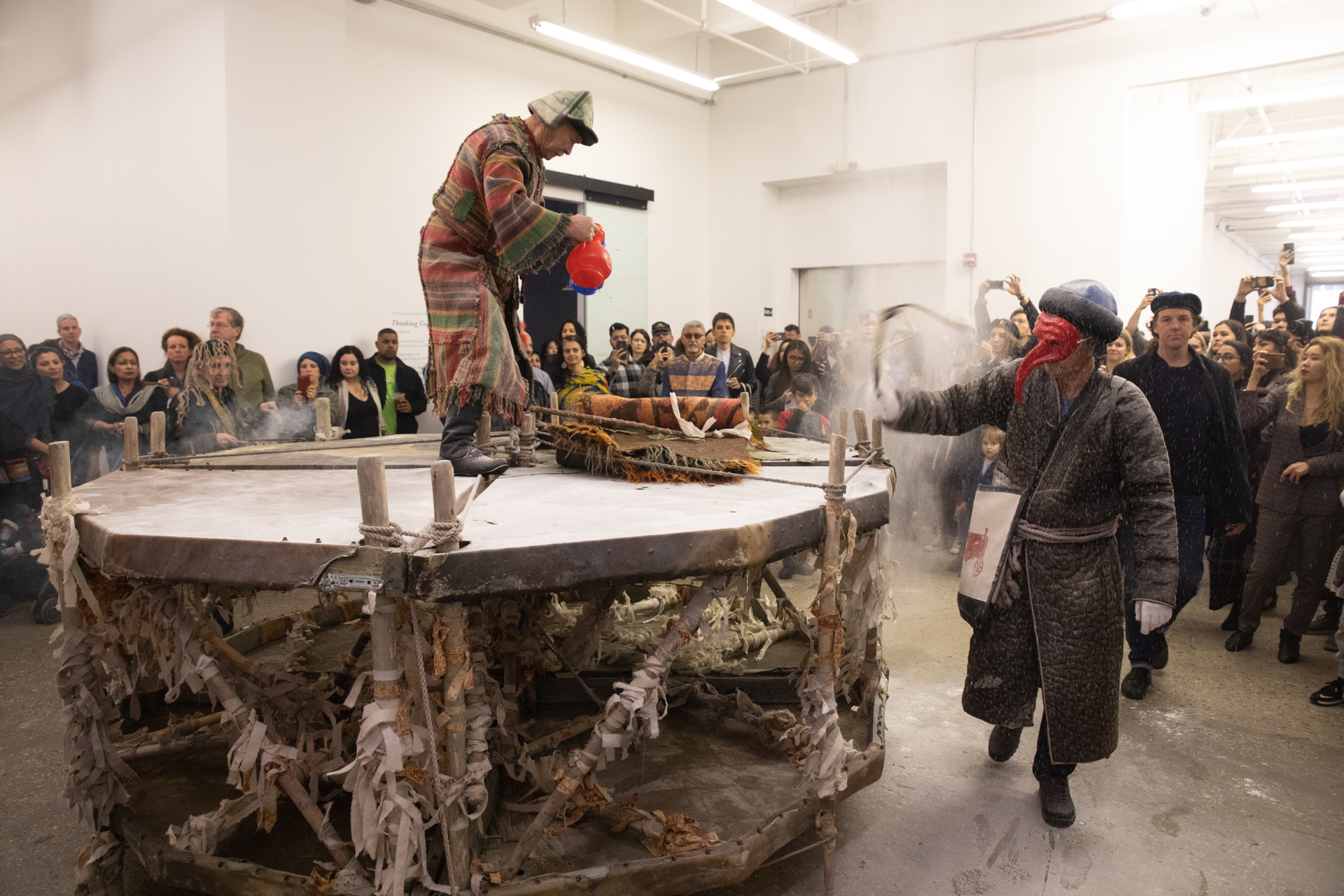 <center>Kyzyl Tractor Art Collective