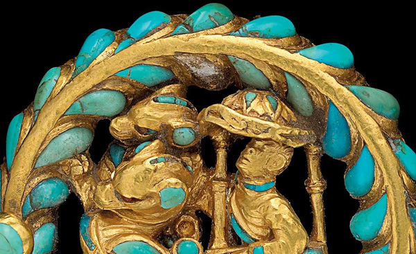 <i>Gold Boot Buckle</i>, 1st century A.D.