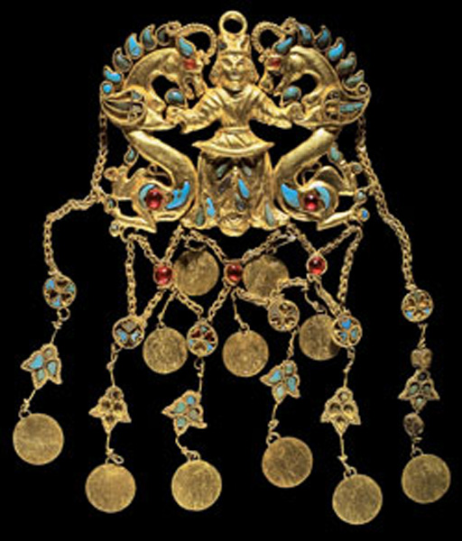 "<i>Pendant of "" Dragon Master,""</i> 1st century A.D.